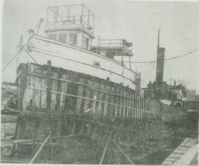 VAIL, WALTER (1890, Steambarge)