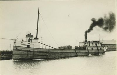ANNIE LAURA (1871, Steambarge)
