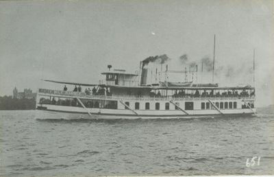 NEW ISLAND WANDERER (1888, Propeller)