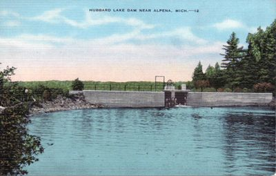 Hubbard Lake Dam