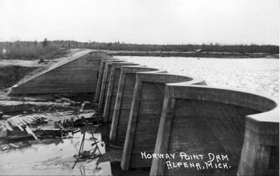 Norway Point Dam