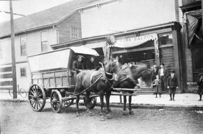 Crystal Ice Company Wagon
