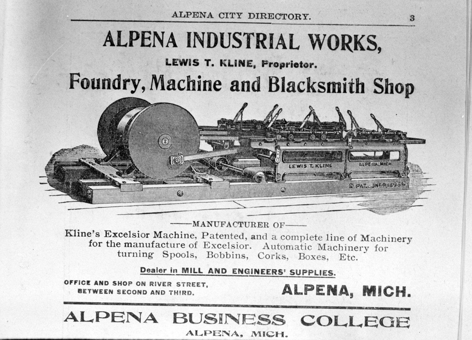 Alpena Industrial Works