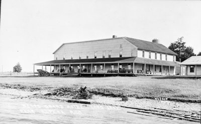 Beck's Grand Hotel on Long Lake, Alpena.