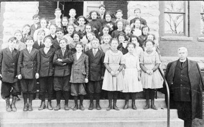 St. Bernard's Church School Students
