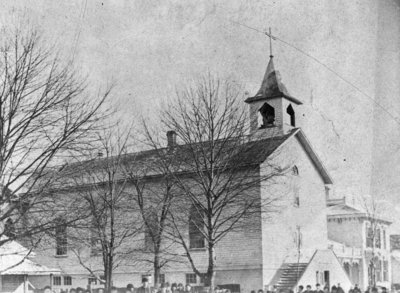 St. Bernard's Catholic Church (first)