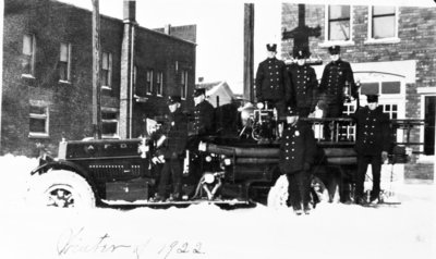 Alpena Fire Department Fire Truck