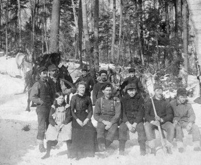 Lumber Camp Crew