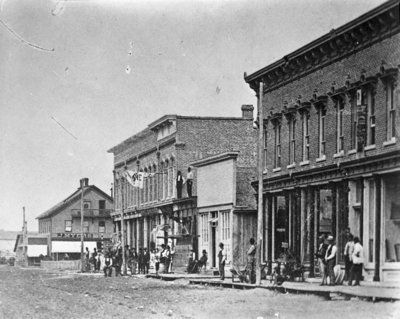 Early Downtown Alpena