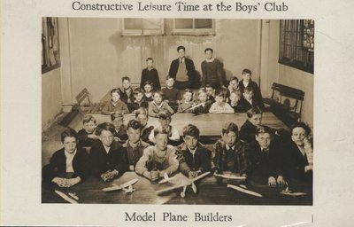Boys' Club Model Plane Builders