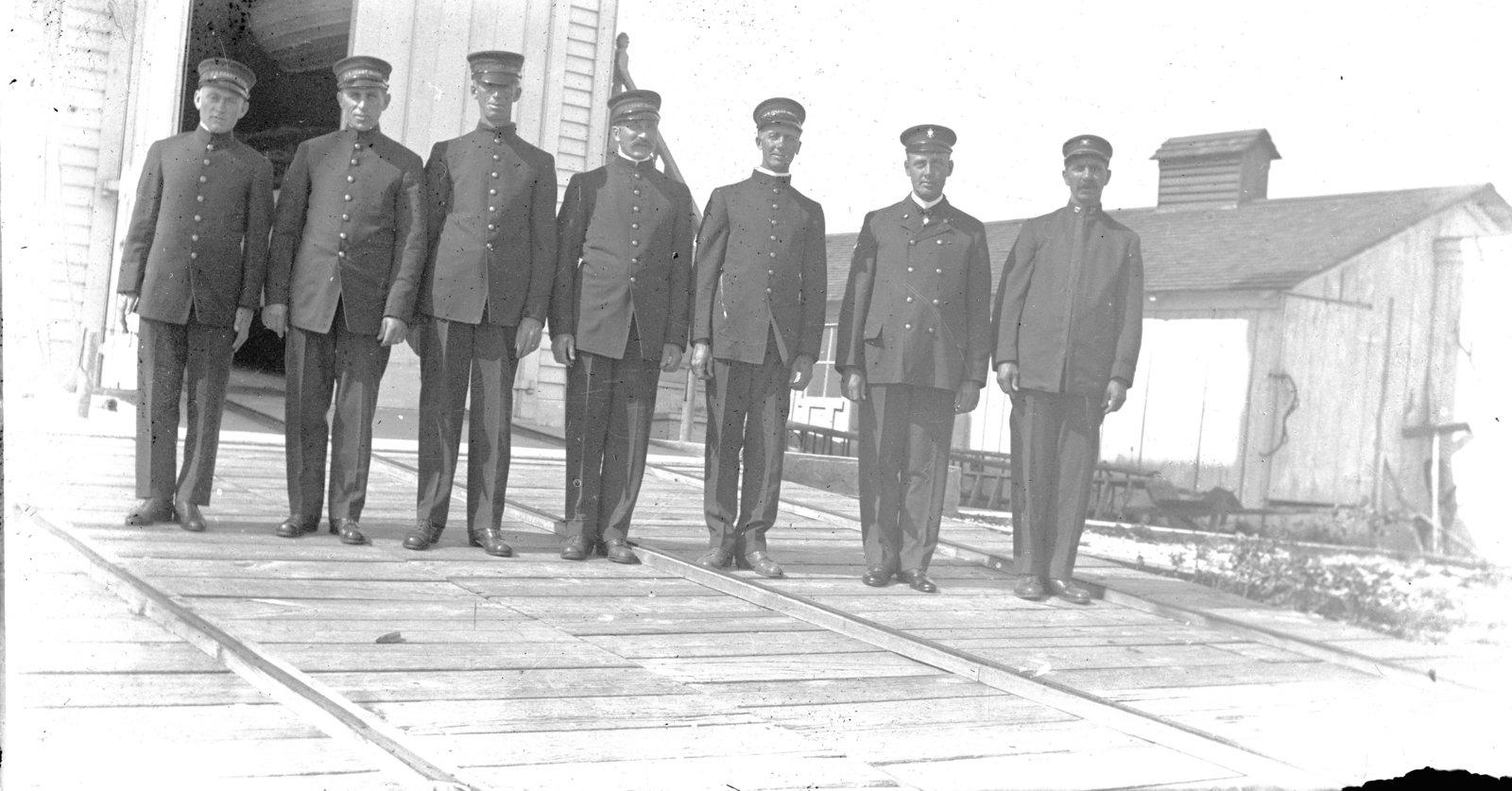 Middle Island: Coast Guard Crew