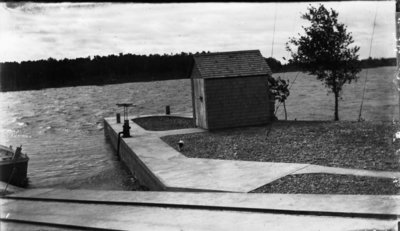 Middle Island:  Surfboat Launch and Dock
