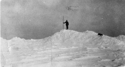 Middle Island: Winter Scene