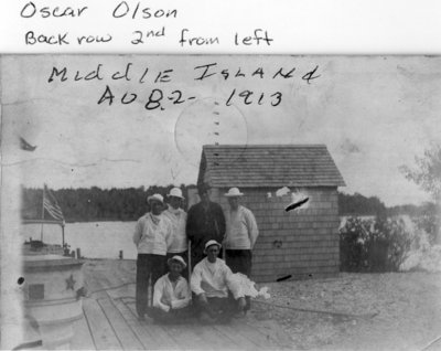 Middle Island:  Lifesaving Station Crew