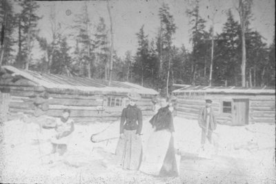 Ladies at Logging Camp