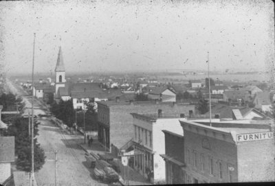 North Side City View of Alpena