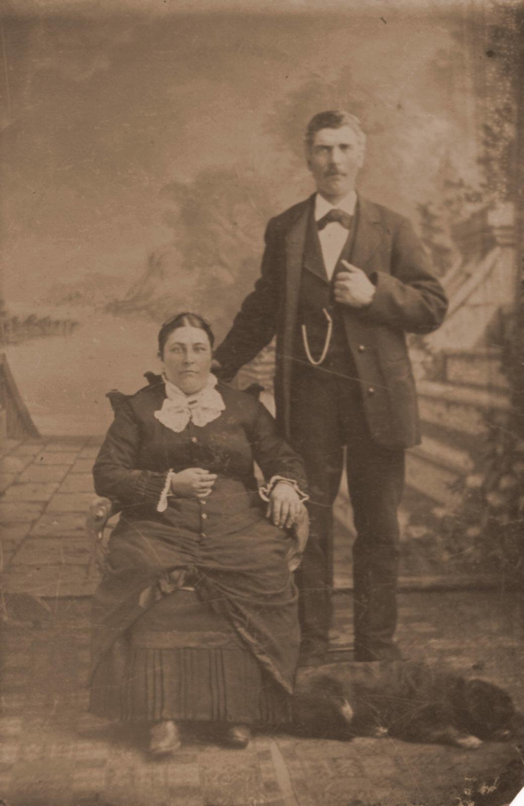 Anna and Jacob Haltiner