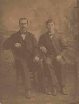Jacob and Robert Haltiner