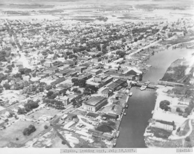 City of Alpena, Aerial View