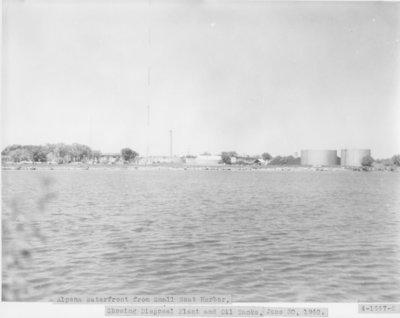 Alpena Waterfront on Thunder Bay, Lake Huron