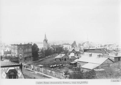 Washington Avenue in City of Alpena