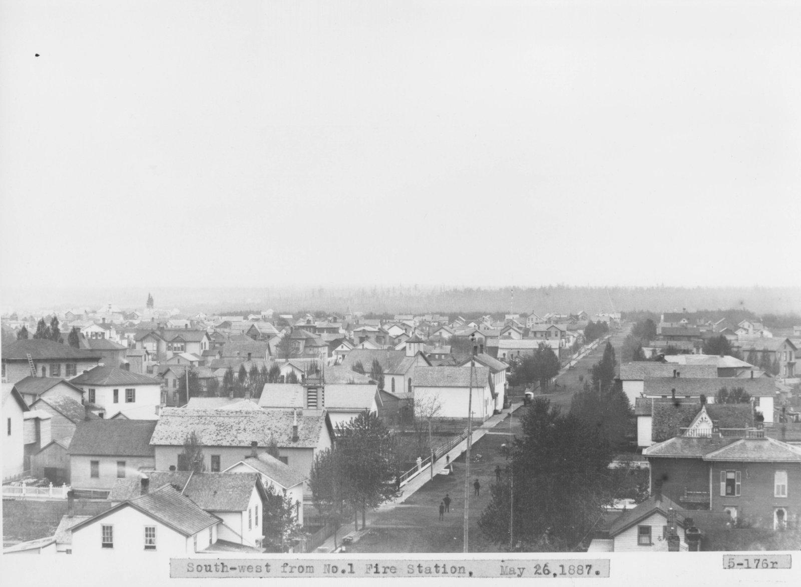 Residential Area of Alpena, Michigan