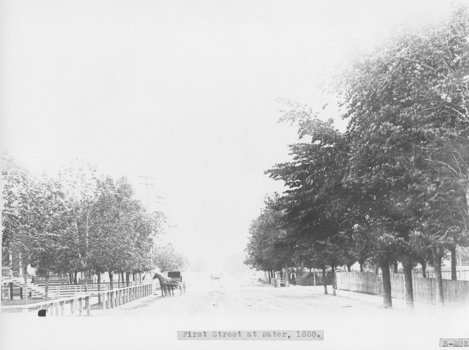 First Avenue, Alpena, Michigan
