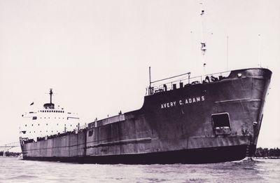 AVERY C. ADAMS (1958, Bulk Freighter)