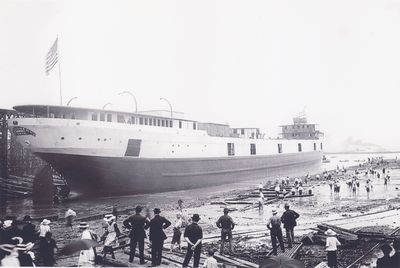 ALLEGHENY (1910, Package Freighter)