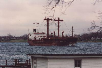 ALPINE STAR (1976, Ocean Freighter)