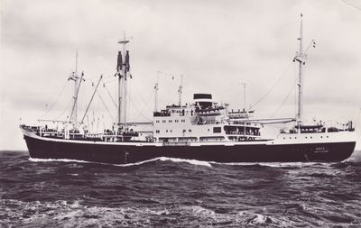 ARES (1959, Ocean Freighter)