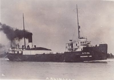 ARLINGTON (1910, Package Freighter)