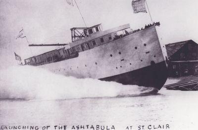 ASHTABULA (1906, Car Ferry (Rail Ferry))