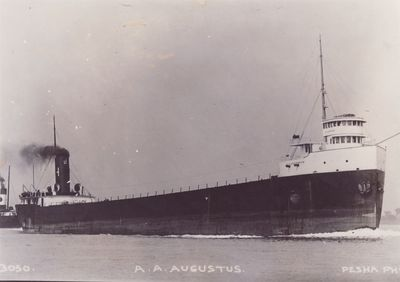 A.A. AUGUSTUS (1910, Bulk Freighter)