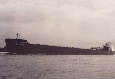 JAMES R. BARKER (1976, Bulk Freighter)