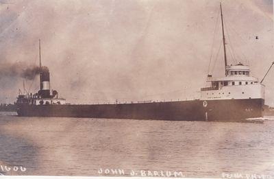 JOHN J. BARLUM (1909, Bulk Freighter)
