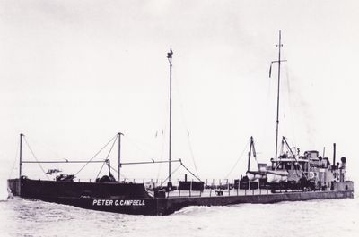 PETER G. CAMPBELL (1933, Barge)