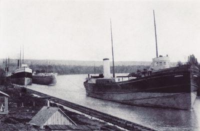 CORONA (1888, Bulk Freighter)