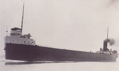 JAMES CORRIGAN (1908, Bulk Freighter)