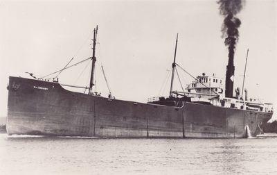 CRABTREE (1919, Bulk Freighter)