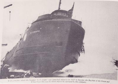 S.T. CRAPO (1927, Bulk Freighter)