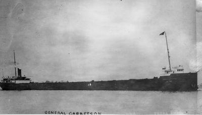 GENERAL GARRETSON (1907, Bulk Freighter)