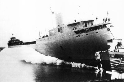 ARTHUR B. HOMER (1960, Bulk Freighter)