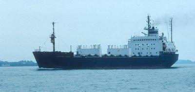 KUZMA MININ (1980, Ocean Freighter)