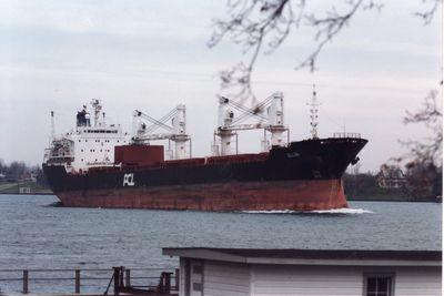 LA LIBERTE (1983, Ocean Freighter)