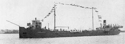 LAKESHELL (1932, Tank Vessel)