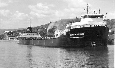 RICHARD M. MARSHALL (1953, Bulk Freighter)