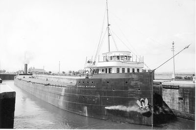 SAMUEL MATHER (1906, Bulk Freighter)