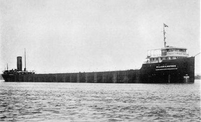 WILLIAM G. MATHER (1925, Bulk Freighter)