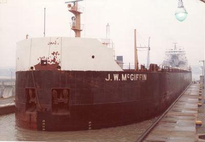 J.W. MCGIFFIN (1972, Bulk Freighter)